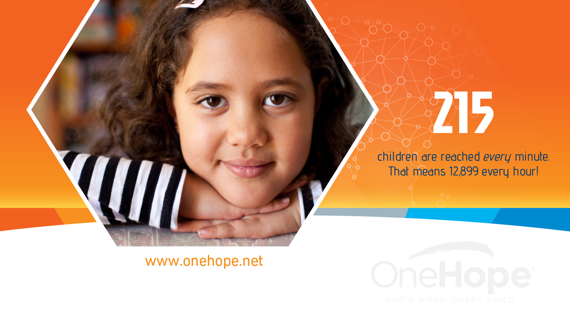 OneHope 215 Children Reached